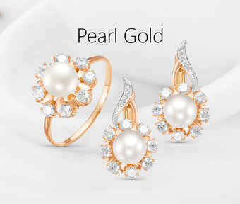 Collection «Pearl gold»